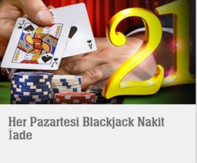 Youwin Blackjack bonusu